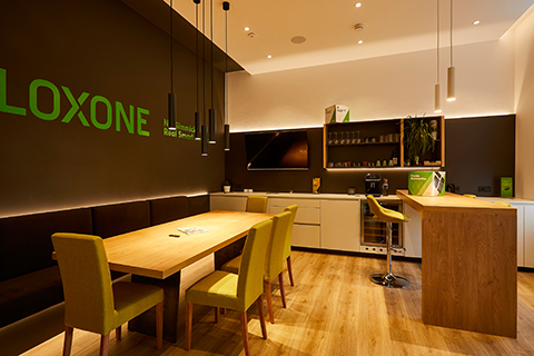 Loxone Showroom in Klagenfurt